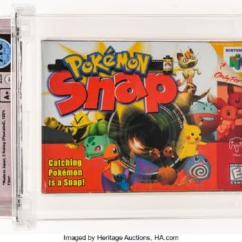 Wata-Graded 7.0 A+ Sealed Pokémon Snap Video Game On Auction