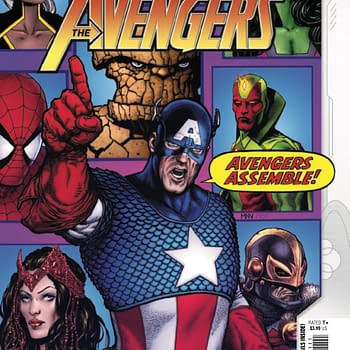 Empyre: The Avengers #1: Non-stop Frenetic Global Action