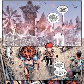 Erik Burnhams Writers Commentary on Red Sonja: Age Of Chaos #4