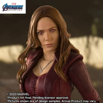 Scarlet Witch Enters the Endgame with S.H. Figuarts