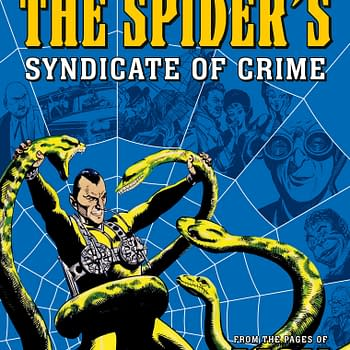 The Spider Reprint Announced by 2000AD With Work From Jerry Siegel
