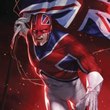 """""""Something With Captain Britain"""" Coming From Marvel #SDCC"""