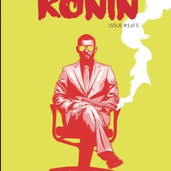 Peter Milligan and Aco's America Ronin in AWA October 2020 Solicits
