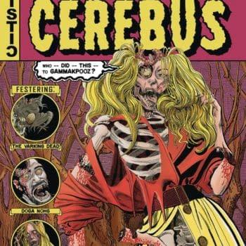 Dave Sim Parodies EC Vaulyt Of Horror For Cerebus One-Shot