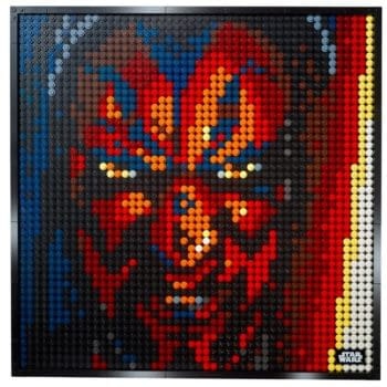 Star Wars Sith Lords Get 3-in-1 Wall Art Set from LEGO