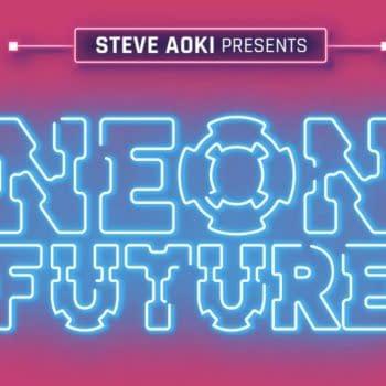 "Steve Aoki Envisions a ""Neon Future"" for Webtoon"