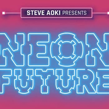 This New Steve Aoki Comic Envisions a Neon Future for Webtoon