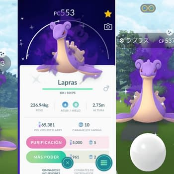 Some Shiny Shadow Lapras Sneaks Into Pokémon GO