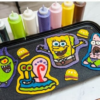 SpongeBob Pancake Party at SDCC c/o The Food Channel