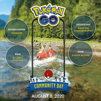 Magikarp Community Day Confirmed for August 8th in Pokémon GO