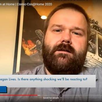 Robert Kirkman Talks About Future Of Walking Dead: Negan Lives #SDCC