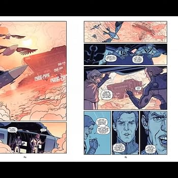 Sneak Peek at Dune Graphic Novel and House Of Atreides Comic #SDCC