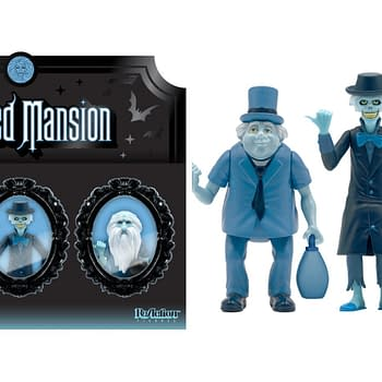 Super7 Reveals New Haunted Mansion NBX Creature ReAction Figures