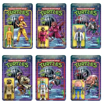 Super7 Reveals Wave 2 TMNT ReAction Figures Available Now