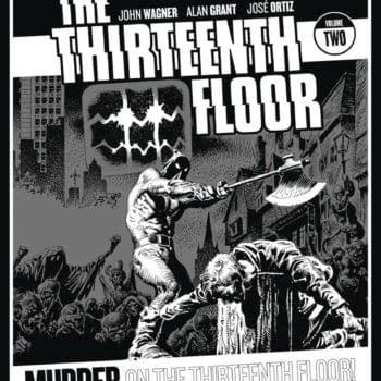 John Wagner's Thirteenth Floor Returns to Rebellion Oct 2020 Solicits