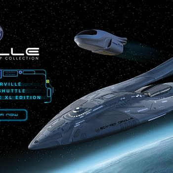 The Orville Starship Collection Comes To Comic-Con@Home