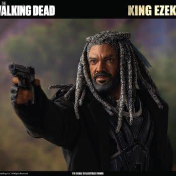 The Walking Dead Ezekiel Protects The Kingdom with Threezero