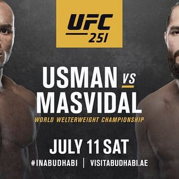 Jorge Masvidal Has Chance Of a Lifetime at UFC 251