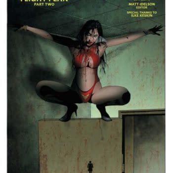 Christopher Priest's Writers Commentary on Vampirella #10