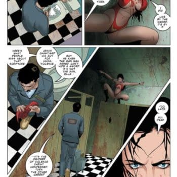 Christopher Priest's Vampirella in the Daily LITG, 16th July, 2020