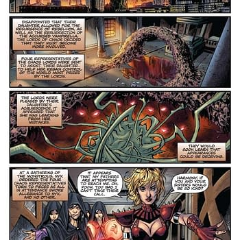 Thomas E. Sniegoski Writer Commentary on Vengeance Of Vampirella #8