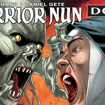The Last Chance to Back New Warrior Nun Comic on Kickstarter