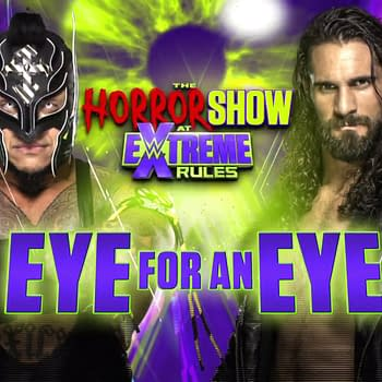 WWE Extreme Rules: One Man Loses an Eye the Other Loses His Lunch