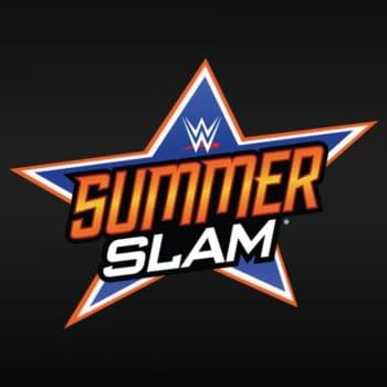 The oficial logo for WWE SummerSlam.