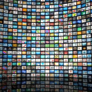 Wall of Images (Image: Shutterstock.com)