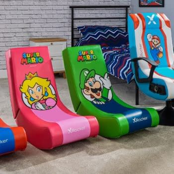 X Rocker & Nintendo Reveal A New Line Of Super Mario Gaming Chairs
