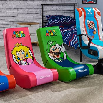 X Rocker &#038 Nintendo Reveal A New Line Of Super Mario Gaming Chairs