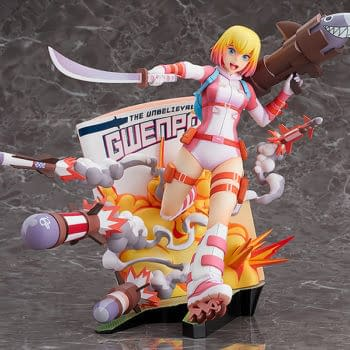 Gwenpool Breaks the Fourth Wall With Good Smile Company Statue