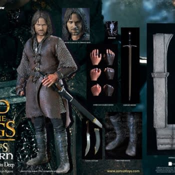 Lord of the Rings Aragon is at Helms Deep with Asmus Toys