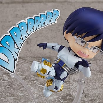 My Hero Academia Tenya Iida Races on in With Good Smile Company