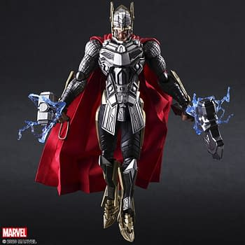 Thor is the Newest Marvel Universe Bring Arts Figure from Square Enix