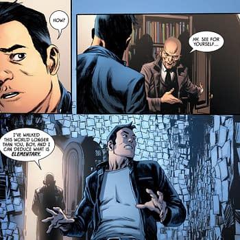 Batman #94 &#8211 Cassander Wycliffe Baker and Sherlock Holmes (Spoilers)