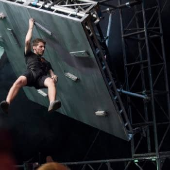 A scene from Ultimate Beastmaster (Image: Netflix)