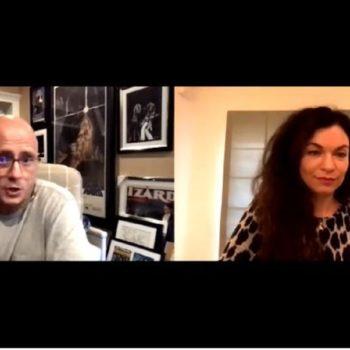 Sera Gamble interviews Eric Kripke (Image: Sera Gamble Official)