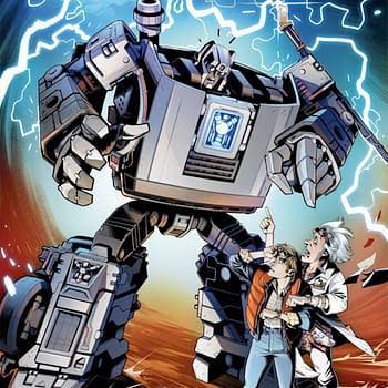 IDW Publishes Transformers/Back To The Future in October