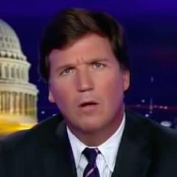 Tucker Carlson looks confused (Image: FOX News Screen Cap)