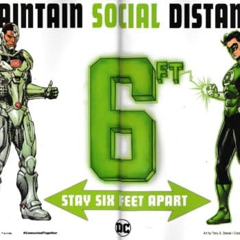 Green Lantern and Cyborg Make Social Distancing Work But Should They?