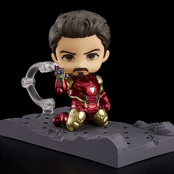 Iron Man Flies on in With Good Smile Company Endgame Re-Release