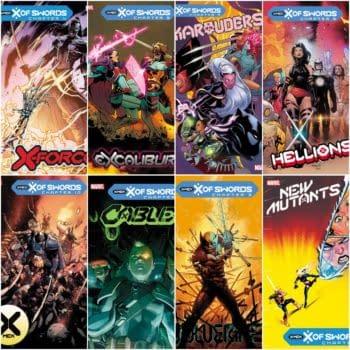 Marvel Creators Reveal X Of Swords October Solicitations