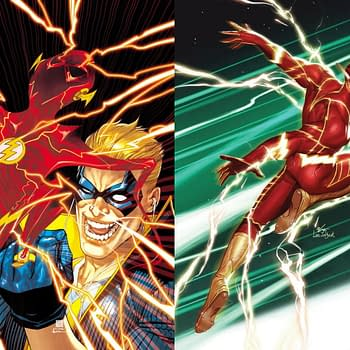Kevin Shinick and Clayton Henry Take Over Flash Comic in October