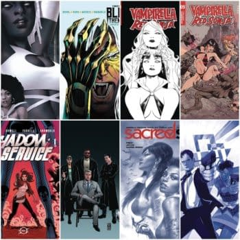 Dynamite, Boom, Vault FOC Covers From Afua Richardson, Jae Lee, More