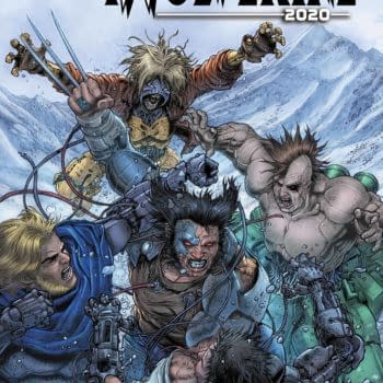 The cover to iWolverine 2020 #1.