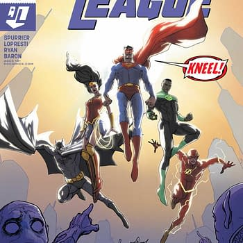 Justice League #48 Review: Big Relevant Ideas Here