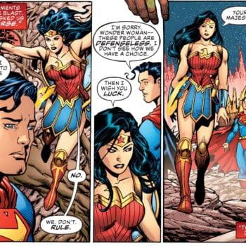 Putting Politics Back Into Superhero Comics With Justice League #49