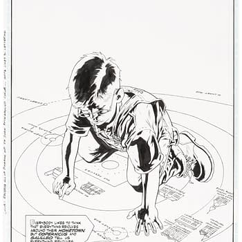 Full Original Art for Alan Moore &#038 Kevin Nowlan Jack B Quick Auction