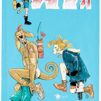 Jamie Hewlett Colour Tank Girl Cover From 1992, Up For Auction